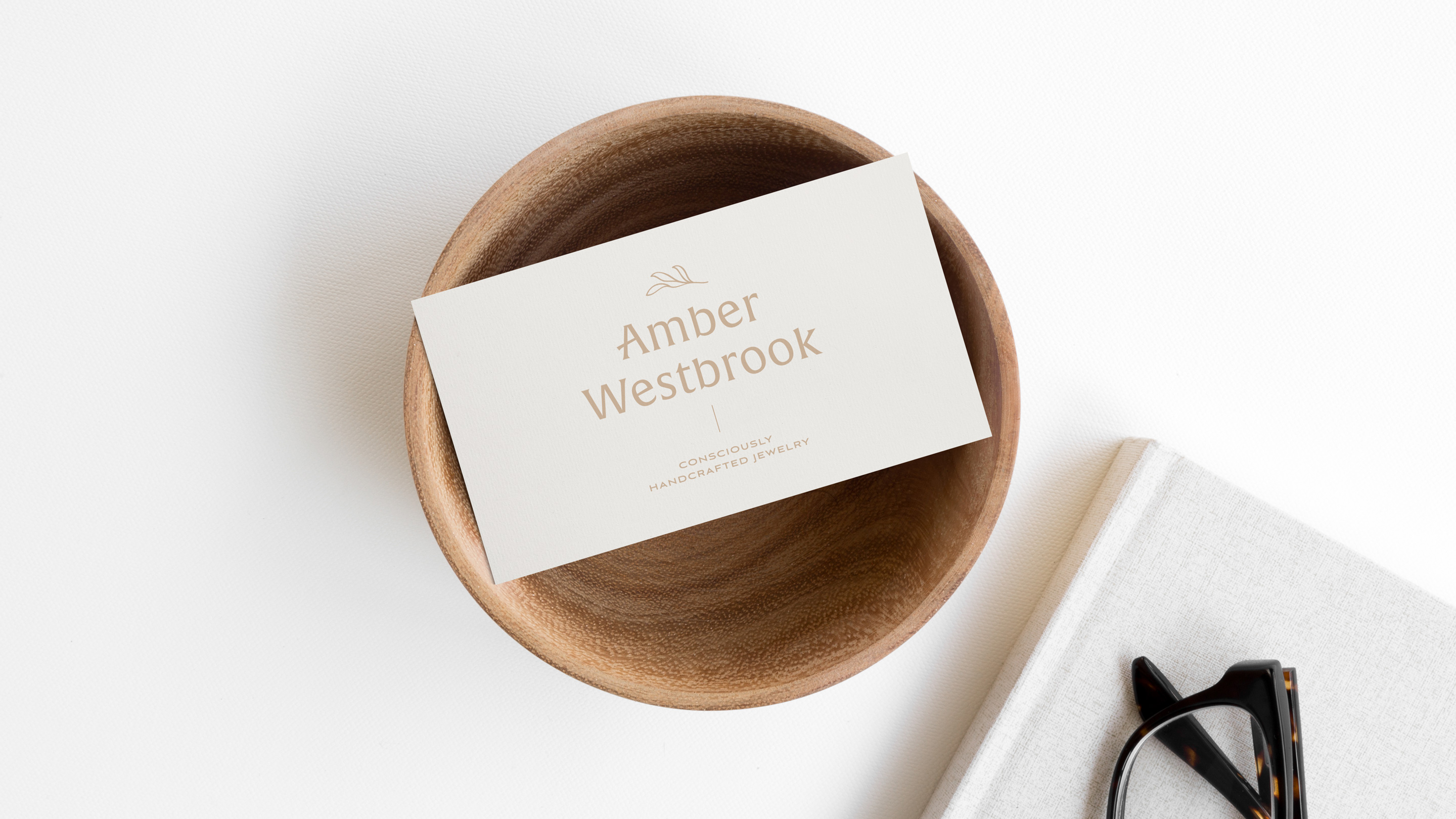 Amber Westbrok - Consciously Handcrafted Jewelry   Conscious and ethical handmade jewelry brand design   Éternel Design Studio