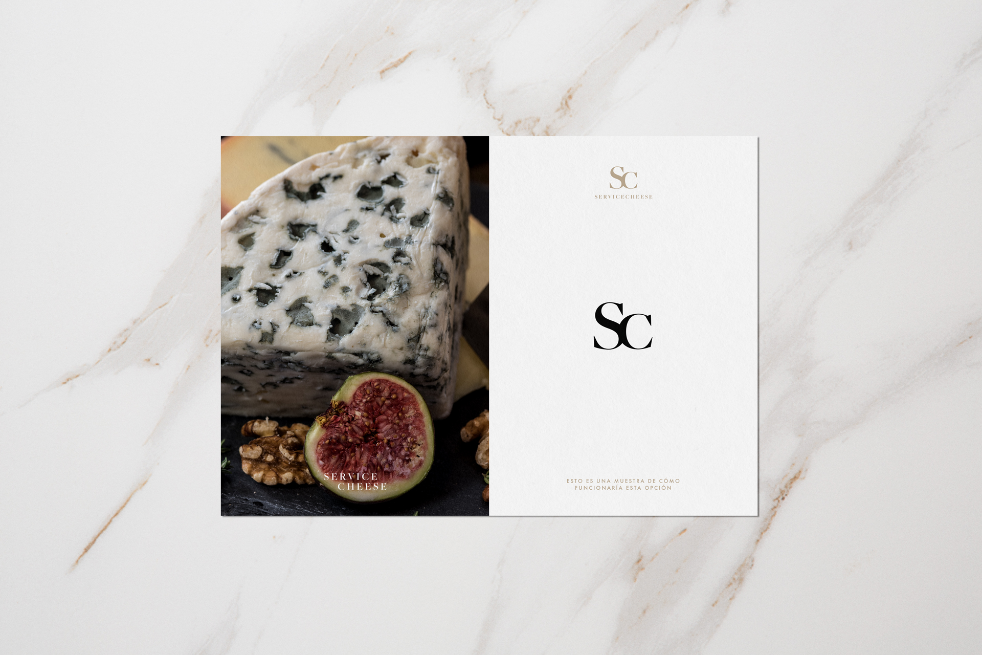 Servicecheese cheese importers branding (logo design + website) by Éternel Design Studio